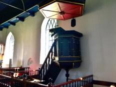 Preekstoel, Interieur kerk Niehove