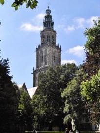 Martinikerk, vanaf Martinikerkhof