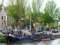 Oude schepen in de kanalen