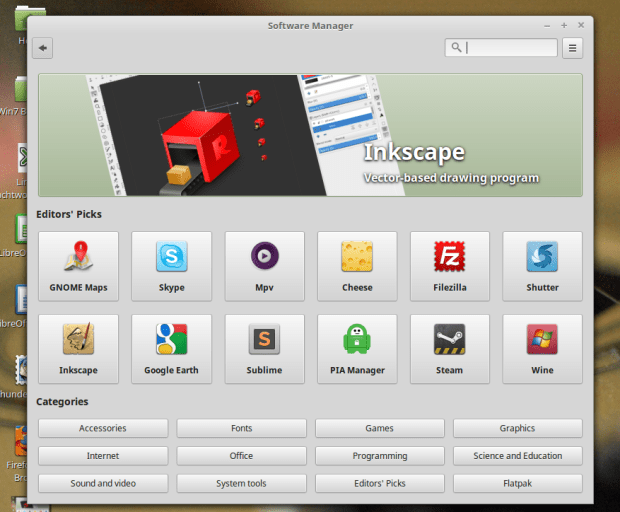 Software Installer Linux Mint