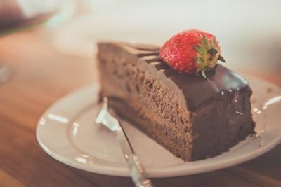Gebak Chocolade Taartje