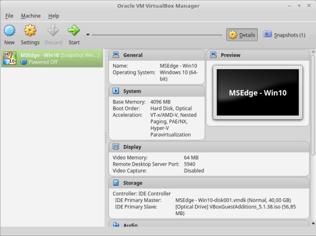 Oracle VM VirtualBox Linux Mint of Ubuntu Linux