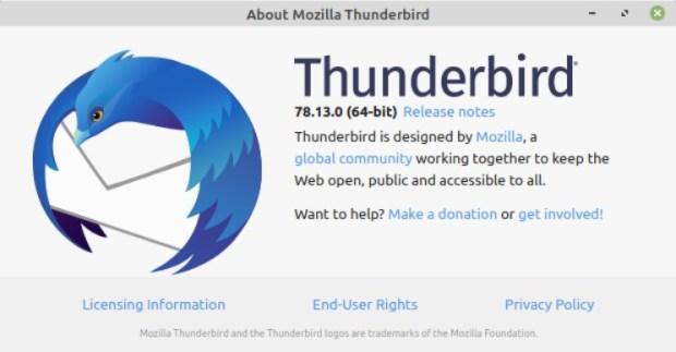 mozilla thunderbird lege mappen
