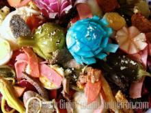 Ingredientes del fiambre por Rudy Girón