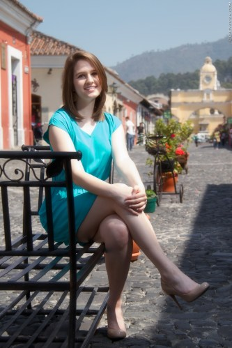 Artistic Senior Pictures in Antigua Guatemala by Rudy Giron Photography