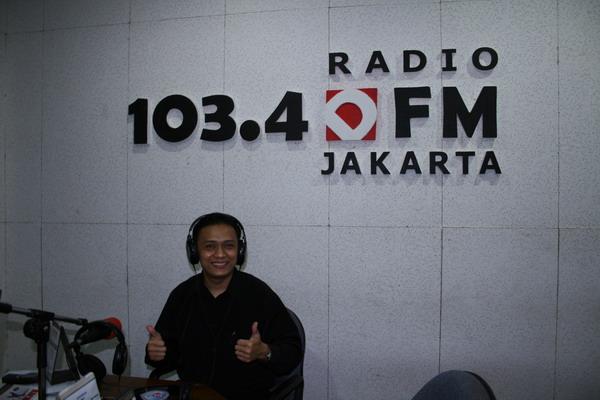 Talkshow di Radio DFM Jakarta 103,4 FM