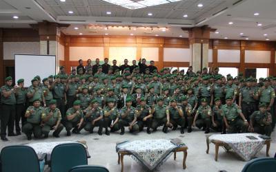 Rudy Lim Motivasi Tentara Nasional Indonesia