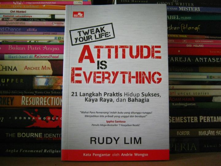 Tweak Your Life: Attitude is Everything2 min read