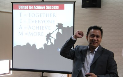 Rudy Lim – The Power of TEAM !