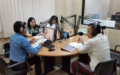 Radio Talkshow on Heartline 100.6 FM