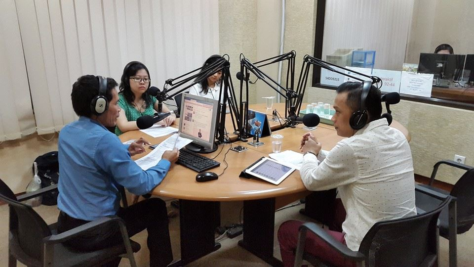Radio Talkshow on Heartline 100.6 FM