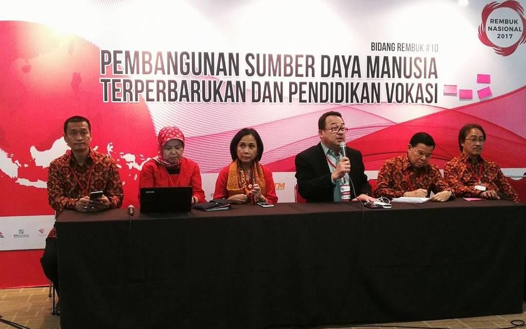 Rembuk Nasional 2017: Membangun Untuk Kesejahteraan Rakyat