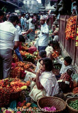 Flower Market, Kathmandu