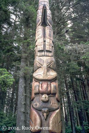 Sitka Totem Pole, Sitka National Historic Park