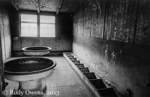 Sachsenhausen Concentration Camp Prisoner Washroom