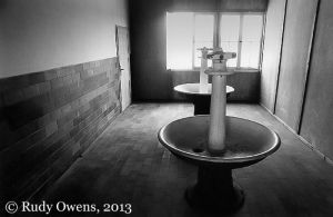 Dachau Concentration Camp Prisoner Washroom