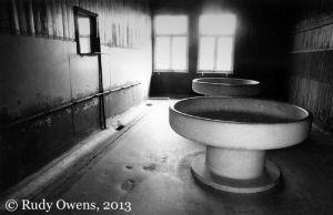 Mauthausen  Concentration Camp Prisoner Washroom