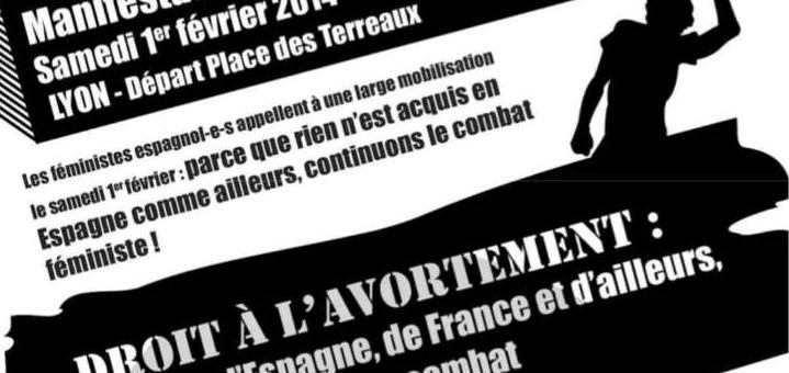 A Lyon, une manifestation pour le droit à l'avortement ce week-end