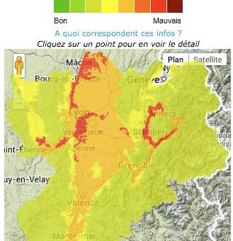 Fin du pic de pollution à Lyon : on a respiré du (très) mauvais air pendant 10 jours