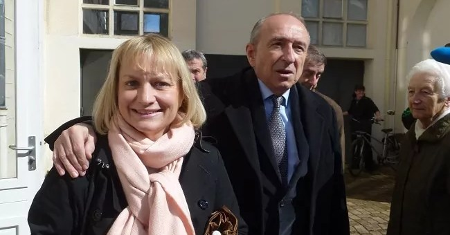 Caroline et Gérard Collomb, une saga familiale en marche