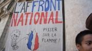 Rassemblement contre le Front national à Lyon le 29 mai, au lendemain des élections européennes. © LB / Rue89Lyon