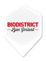 Le logo Biodistrict Lyon-Gerland