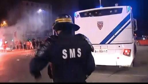 Algérie-Allemagne à Lyon : manif d'extrême droite, projectiles et interpellations