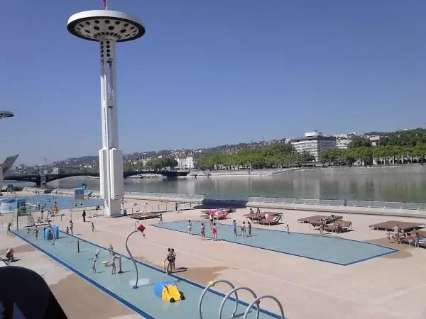 O aller se baigner depuis lyon sans voiture for Tarif piscine du rhone
