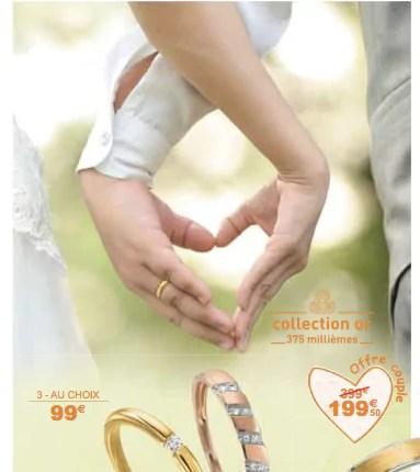 """Capture d'écran du catalogue promotionnel """"Wedding"""" de Auchan."""