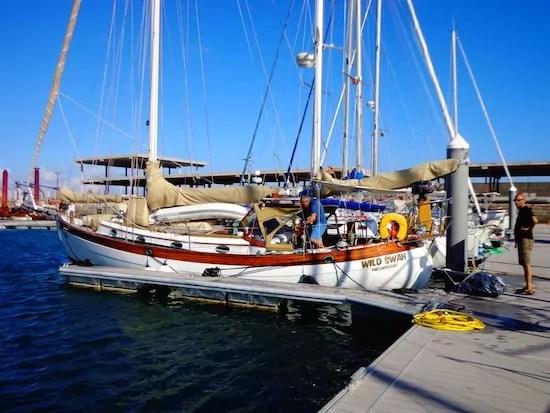 Le-Wild-Swan-premier-embarquement-de-Baptiste-Agadir