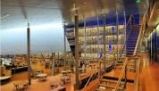 Dans les bibliothèques tiers-lieu, on est loin du cadre austère des établissements traditionnels. Ici à Delft, au Pays-Bas. Capture d'écran du site tuxboard.com
