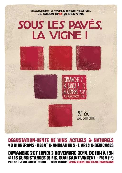 Le premier salon rue89 lyon des vins rue89lyon - Salon des vignerons independants lyon ...