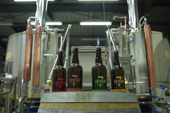 Patrick Copetti devrait produire entre 210 et 220 hectolitres de bières. Crédit photo: DR