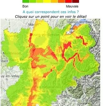 En Rhône-Alpes, deuxième pic de pollution de l'automne