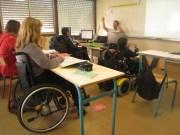 Dans une classe de la cité scolaire Elie Vignal à Caluire. Crédit : Adeline Charvet.