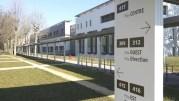 Le nouveau bâtiment du Vinatier qui regroupe toute la psychiatrie pour adultes. ©LB/Rue89Lyon