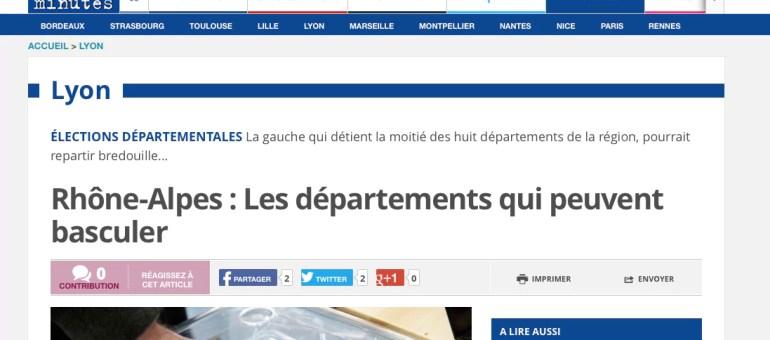 Les quatre départements en Rhône-Alpes qui pourraient basculer