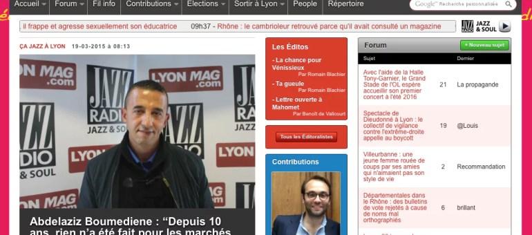 Les commerçants non sédentaires de Lyon manifestent : «les marchés créent du lien social»
