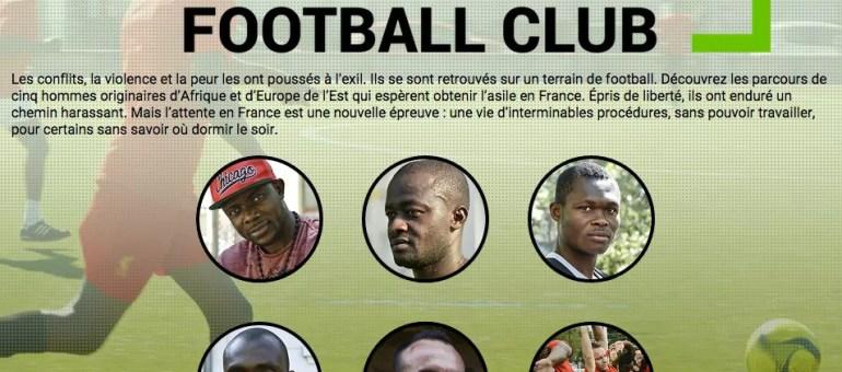 [Webdoc] Demandeurs d'asile Football Club : quand Messi est un ex-joueur de division 1 kosovare