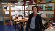Stéphanie Julien, une des profs de maths du collège de la Duchère. ©LB/Rue89Lyon