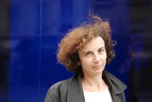 Noémi Lefebvre aux Assises Internationales du Roman 2015. Crédit : C. Hélie/Gallimard.