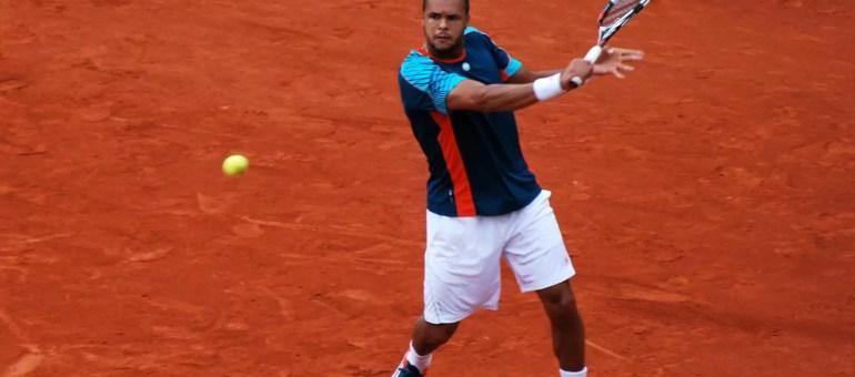 Tsonga en demi-finale de Roland-Garros, avec deux boyaux de vaches