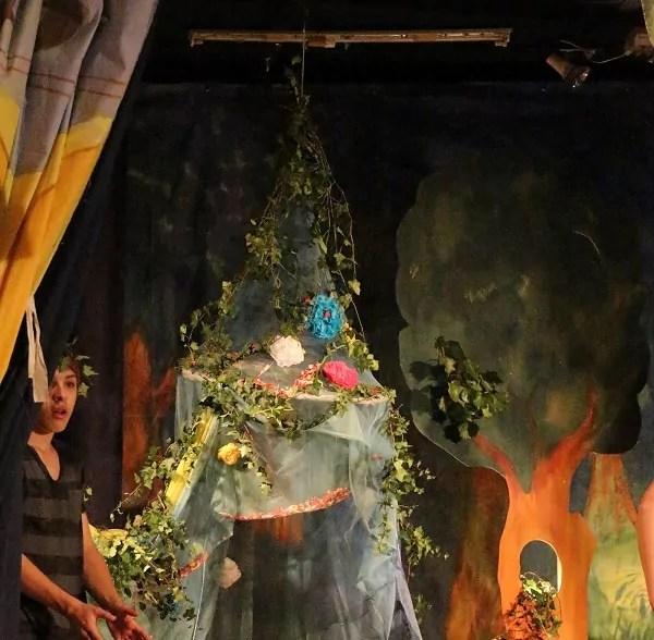 Des décors aux costumes, tout a été fait par les enfants (crédit : LM / Rue89Lyon©)