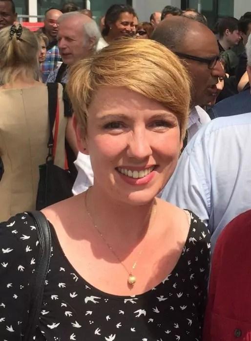 Cécile Michaux, élue PS à Lyon.