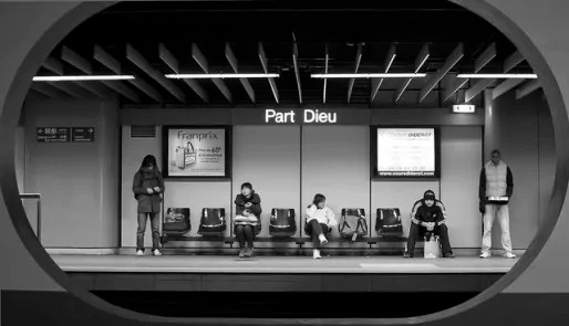 Quai de la station de métro Part-Dieu / Photo CC by  Ludo Rouchy via Flickr