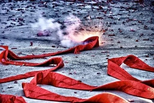 Des pétards en Chine à l'occasion du Nouvel An chinois (Photo Jim Nix / Nomadic Pursuits / FlickR / CC)