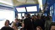 En moyenne, les étudiants laissent passer deux trams avant de pouvoir se rendre sur le campus Porte des Alpes.