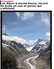 Capture d'écran du site du Dauphiné Libéré