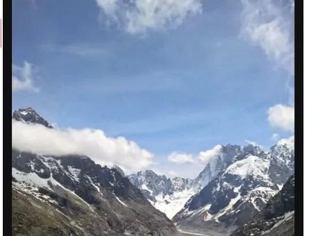 Dans les Alpes : fonte record des glaciers cet été
