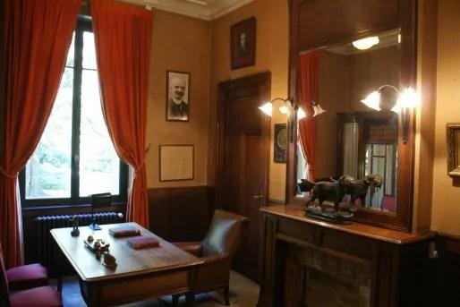 Le bureau de Marius Berliet, gardé en état depuis les années cinquante ©MP/Rue89Lyon